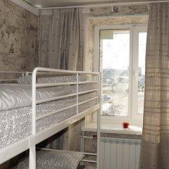 Хостел Обской Кровать в женском общем номере с двухъярусной кроватью