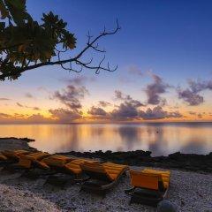 Отель Fafarua Ile Privée Private Island Французская Полинезия, Тикехау - отзывы, цены и фото номеров - забронировать отель Fafarua Ile Privée Private Island онлайн приотельная территория фото 2
