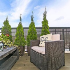 Апартаменты Blue Mandarin Apartments - Szafarnia балкон