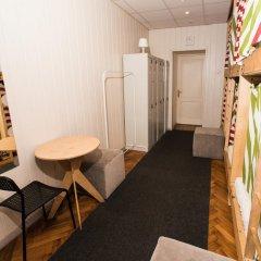 Хостел Архитектор Кровать в общем номере с двухъярусной кроватью фото 19