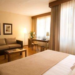 Отель Aparthotel Mariano Cubi Barcelona 4* Улучшенный номер с различными типами кроватей