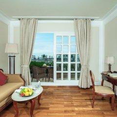 Sunrise Nha Trang Beach Hotel & Spa 4* Улучшенный номер с 2 отдельными кроватями фото 4