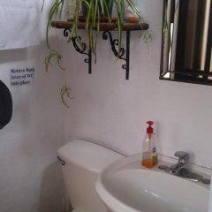 Hostel Mexico Df Airport Кровать в общем номере фото 6