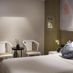 Paco Hotel Guangzhou Gangding Metro Branch 4* Улучшенный номер с различными типами кроватей фото 3