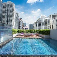 Отель Citadines Sukhumvit 23 Bangkok Таиланд, Бангкок - 1 отзыв об отеле, цены и фото номеров - забронировать отель Citadines Sukhumvit 23 Bangkok онлайн бассейн фото 2