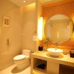 Jinjiang Nanjing Hotel 4* Стандартный номер разные типы кроватей фото 4