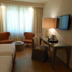 Отель Starhotels Michelangelo 4* Улучшенный номер с различными типами кроватей фото 7