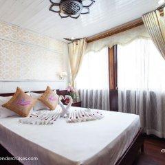 Отель Halong Lavender Cruises 3* Номер Делюкс с двуспальной кроватью фото 6