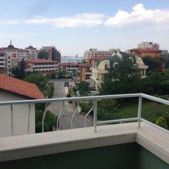 Отель Flower Guest House Солнечный берег балкон