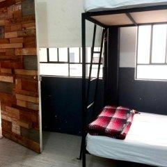 Отель Stayinn Barefoot Condesa Кровать в общем номере фото 4