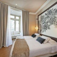 Отель Hostal Central Barcelona Стандартный семейный номер с двуспальной кроватью фото 2