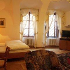 Отель U Cerneho Medveda- At The Black Bear Апартаменты с различными типами кроватей фото 7