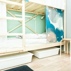 Гостиница Hostels Rus Vnukovo Кровати в общем номере с двухъярусными кроватями фото 5