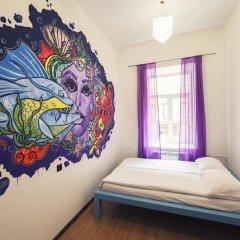 Pururoom Hostel Стандартный номер двуспальная кровать (общая ванная комната) фото 4