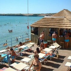 Отель La Via Del Mare Италия, Аренелла - отзывы, цены и фото номеров - забронировать отель La Via Del Mare онлайн пляж фото 2