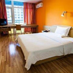 Отель 7Days Inn Xi'an Big Wild Goose Pagoda Shanbo Branch Китай, Сиань - отзывы, цены и фото номеров - забронировать отель 7Days Inn Xi'an Big Wild Goose Pagoda Shanbo Branch онлайн комната для гостей фото 2