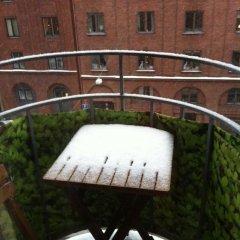 Апартаменты Eklanda Apartment Korsvagen Гётеборг балкон