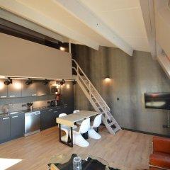 Отель Amosa Liège 3* Апартаменты с 2 отдельными кроватями фото 4
