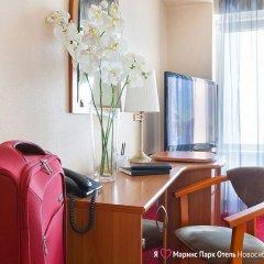 Marins Park Hotel Novosibirsk 4* Стандартный номер с двуспальной кроватью фото 8