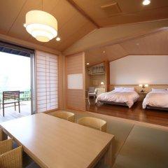 Отель Asagirinomieru Yado Yufuin Hanayoshi 4* Стандартный номер фото 3