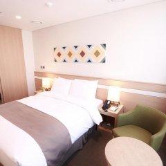 Tmark Hotel Myeongdong 3* Номер Делюкс с различными типами кроватей фото 6