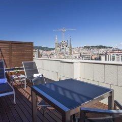 Отель Eurostars Monumental 4* Улучшенный номер с двуспальной кроватью фото 8