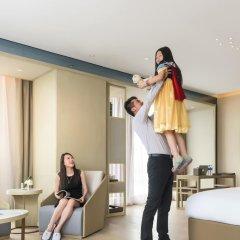 Отель Novotel Shanghai Clover 4* Полулюкс с различными типами кроватей фото 7