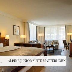 Отель Mont Cervin Palace 5* Полулюкс с различными типами кроватей фото 9