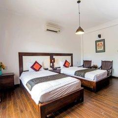 Отель Hoang Dao Villa 3* Номер Делюкс с двуспальной кроватью фото 14
