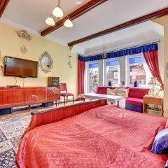 Апартаменты Royal Apartments - Apartament Sydney Сопот комната для гостей фото 2
