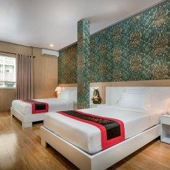 Saga Hotel 2* Стандартный семейный номер с двуспальной кроватью