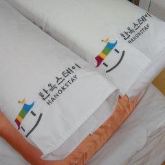 Отель Yeonwoo Guesthouse Стандартный номер с различными типами кроватей фото 8