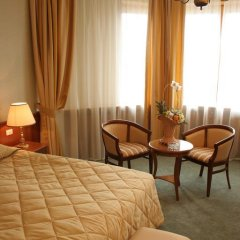 Президент-Отель 4* Номер Делюкс с двуспальной кроватью фото 15