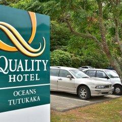 Quality Hotel Oceans Tutukaka парковка