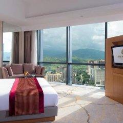Huaqiang Plaza Hotel Shenzhen 4* Номер Делюкс с различными типами кроватей фото 8
