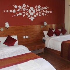 Отель Chitwan Forest Resort Непал, Саураха - отзывы, цены и фото номеров - забронировать отель Chitwan Forest Resort онлайн комната для гостей фото 2