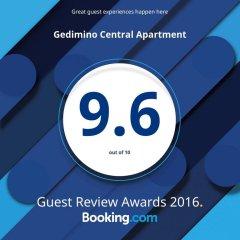 Апартаменты Gedimino Central Apartment питание