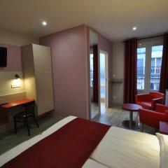 Grand Hotel de Turin 3* Стандартный номер разные типы кроватей фото 9