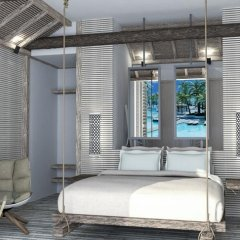 Отель Stella Island Luxury resort & Spa - Adults Only 5* Бунгало с различными типами кроватей фото 2