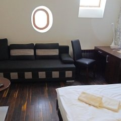 Отель Łódź 55 Семейная студия с двуспальной кроватью фото 10