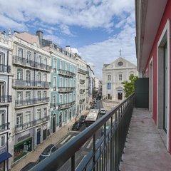 Отель Chiado Mercy - Lisbon Best Apartments Португалия, Лиссабон - отзывы, цены и фото номеров - забронировать отель Chiado Mercy - Lisbon Best Apartments онлайн балкон
