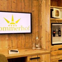 Hotel Sommerhof 4* Студия с различными типами кроватей фото 4