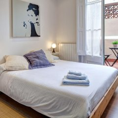 Апартаменты Habitat Apartments Bruc Барселона комната для гостей фото 2