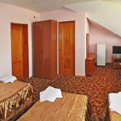 Гостиница Пансионат Золотая линия 3* Стандартный семейный номер с двуспальной кроватью фото 6