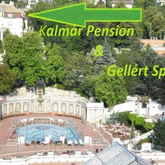 Отель Kalmár Pension Венгрия, Будапешт - отзывы, цены и фото номеров - забронировать отель Kalmár Pension онлайн бассейн