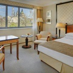 Kempinski Hotel Corvinus Budapest 5* Полулюкс Премиум с двуспальной кроватью фото 3