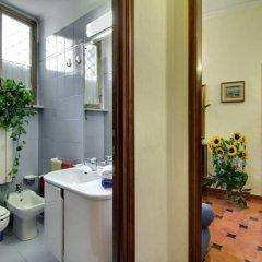 Отель Oltre le Mura Италия, Рим - отзывы, цены и фото номеров - забронировать отель Oltre le Mura онлайн ванная