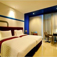 FX Hotel Metrolink Makkasan комната для гостей фото 4