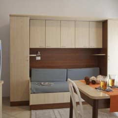 Отель Residence Blu Mediterraneo 2* Апартаменты с различными типами кроватей фото 2