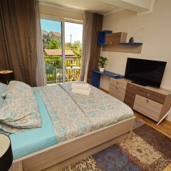 Отель Studios Dimitris Черногория, Тиват - отзывы, цены и фото номеров - забронировать отель Studios Dimitris онлайн комната для гостей фото 4